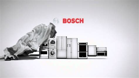 bosch home appliances tv spot german engineering you