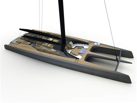 innovative catamaran design innovative new blackcat multihull superyacht concept