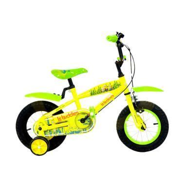 B824 Stelan Anak Minion Yellow jual wimcycle minion sepeda anak yellow green 12 inch harga kualitas terjamin