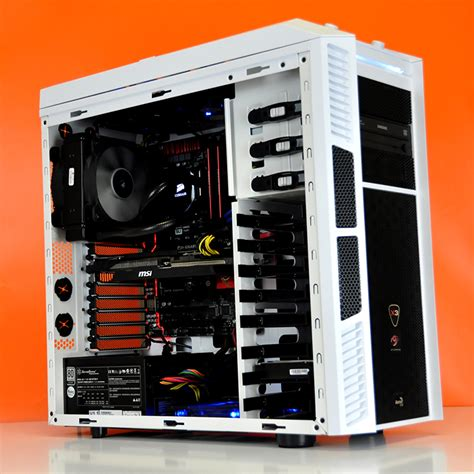 Pc Gaming Kabylake G4560 3 5ghz Ssd Plus Hdd Gtx 1050 Samsung 19 build log intel ultimate custom gaming pc in aerocool xpredator x3 evatech news