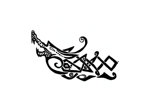 viking longship tattoo design norse wolf designs www pixshark images