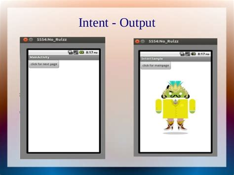 intent android intent in android