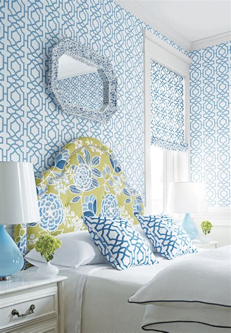 pattern wall bedroom stylish animal print and floral print wallpaper ideas for
