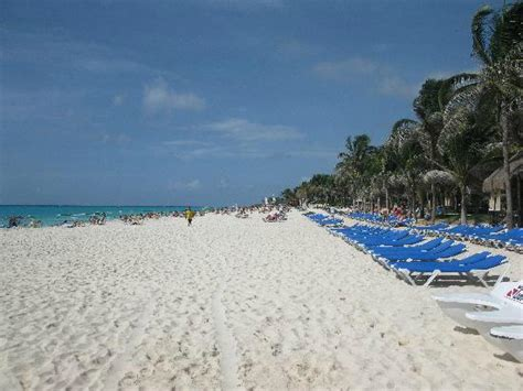 Beach   Picture of Hotel Riu Palace Mexico, Playa del Carmen   TripAdvisor