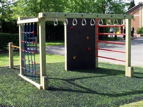 Backyard Monkey Bars by Climbing Systen With Net Monkey Bars Climbing Wall