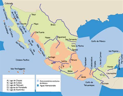 mapa de mexico con rios estudos de geografia 2014 hidrografia da am 201 rica latina