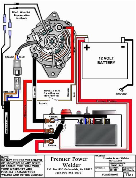 intallation diagrams photos premier power welder