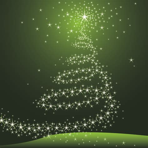 imagenes navidad verde 193 rbol estrellado decorativo de navidad en fondo verde