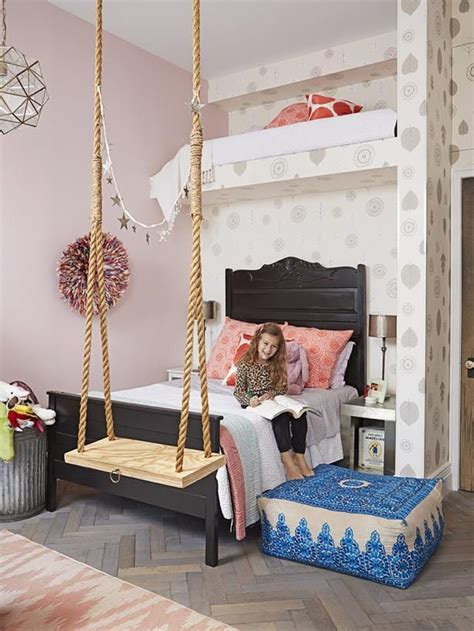 swing in bedroom little girl s room genevieve gorder s nyc apartment