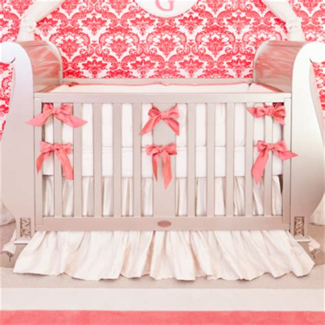 coral nursery bedding sets crib bedding archives crown interiors