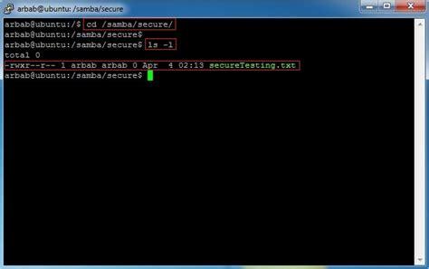setup ubuntu server samba how to install samba server on ubuntu 12 04 network engineer
