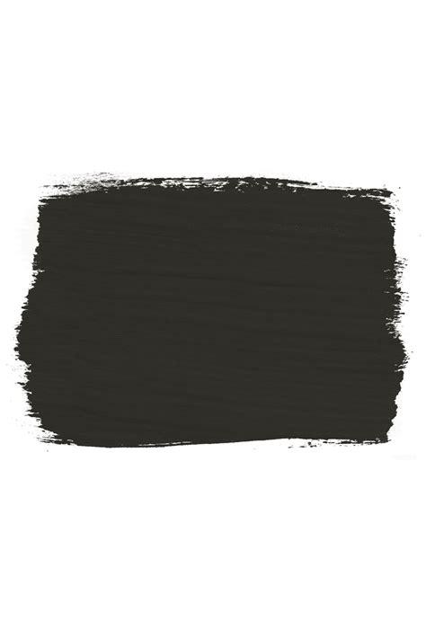 black paint swatch annie sloan graphite chalk paint 174