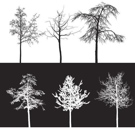 tree pattern brush 10 trees brushes photoshop brushes