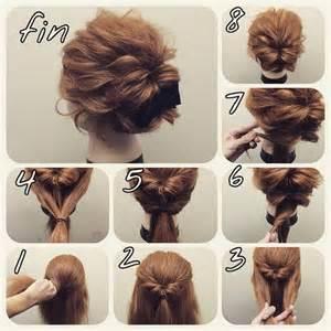 step by step easy updos for thin hair id 233 es de coiffures simples rapides et pratiques pour
