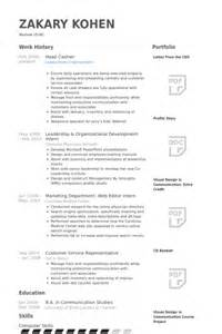 Head Cashier Resume Samples Visualcv Resume Samples Database