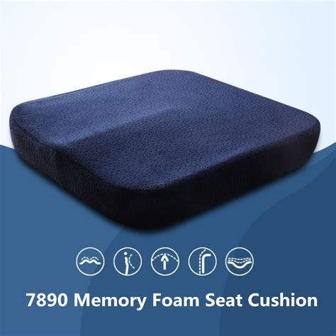 bench seat cushion foam new memory foam seat cushion coccyx orthopedic chair car