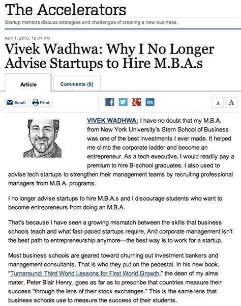 Do Entrepreneurs Need Mba by Do Entrepreneurs Need An Mba At All Therodinhoods