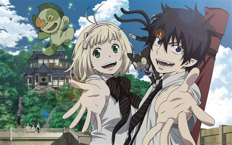 anoboy ao no exorcist ao no exorcist blue exorcist wallpaper zerochan anime
