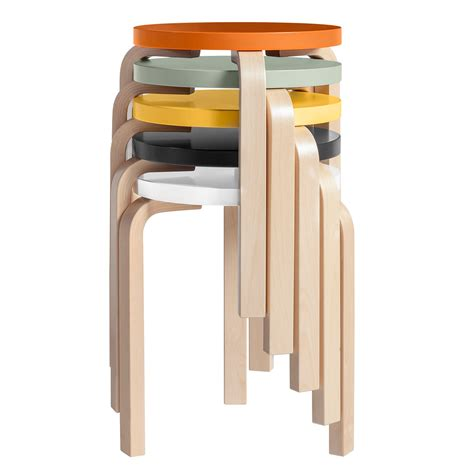 Stackable Stools by Stool 60 80th Anniversary Artek Designapplause