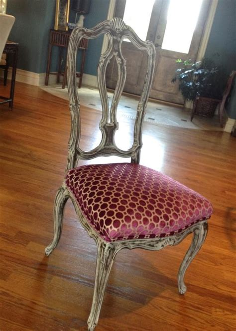 Reupholstered Dining Chairs Reupholstered Dining Chair