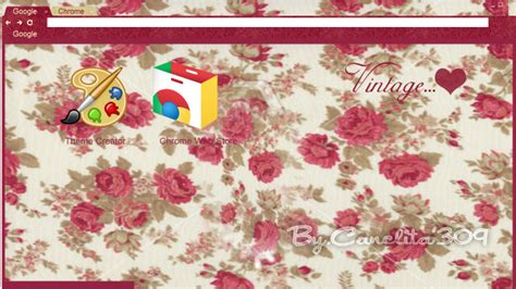 Theme Chrome Vintage | theme google chrome vintage flower by sriitadewatt on