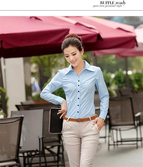 Kemori Shirt Kemeja Wanita Kemeja Import Murah 1 baju kemeja kerja wanita 2014 model terbaru jual murah