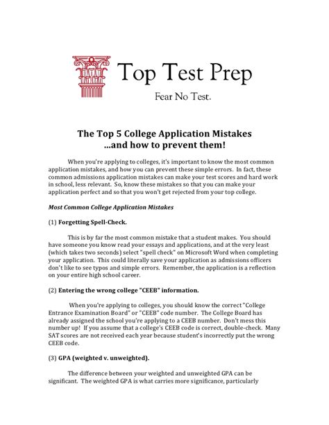 Resume Common App How To Complete The College Common App Applying To Colleges Topt