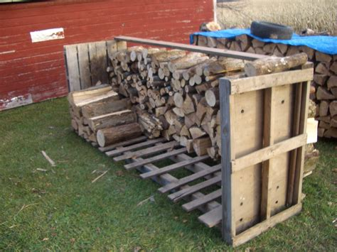 build firewood rack pallets frugalcountrymom pallet ideas