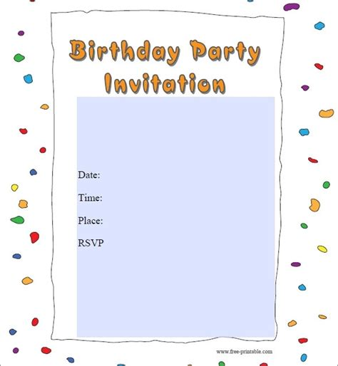 Cheap Party Invitations Template Resume Builder Pdf Invitations Templates