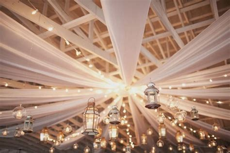 23 Ways To Transform Your Wedding From Bland To Mind Blowing Wedding Ceiling Lights
