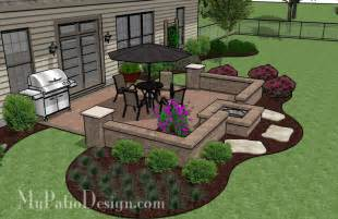 Simple patio with a fire pit patio designs and ideas ikea decora
