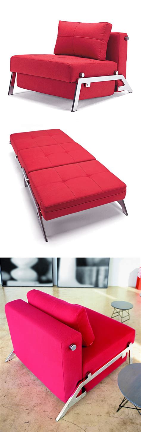 Convertible Sleeper Chair by Comfy Convertible Chair Folds Out To A Sleeper