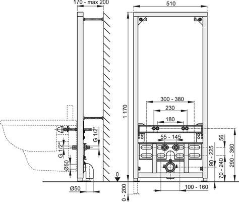 bidet wasseranschluss bidet vorwandelement f 252 r eckmontage h 228 nge wc