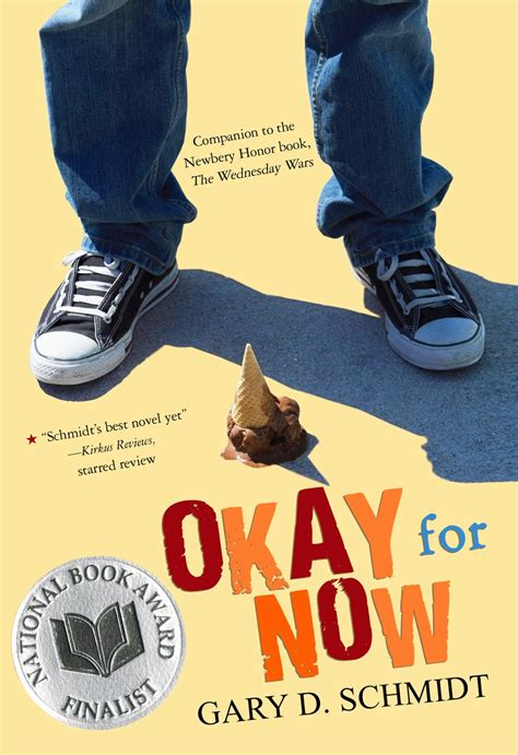 for now books library matters the wednesday wars and okay for now by