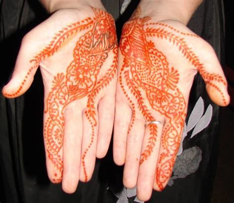 my henna tattoo is orange henna ideas and henna designs page 4