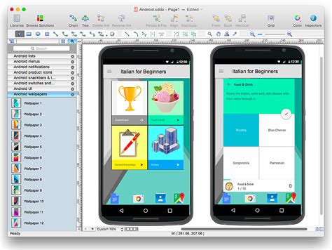 design app gui android app gui mock up