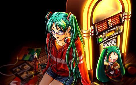cool looking coca cola tattoo tattoomagz music anime girl hatsune miku headphones coca cola jukebox