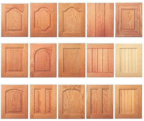 Kitchen Cabinet Wood Types door styles