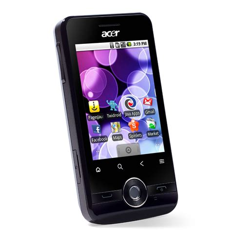 acer android mobile acer betouch e120 noir mobile smartphone acer sur ldlc