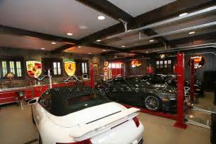Custom Garage Custom Garage Design And Furnished By Vault 174 Our