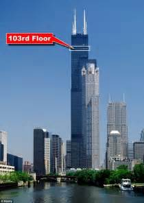 Sears Tower Amazing Balconies Of Willis Tower Chicago