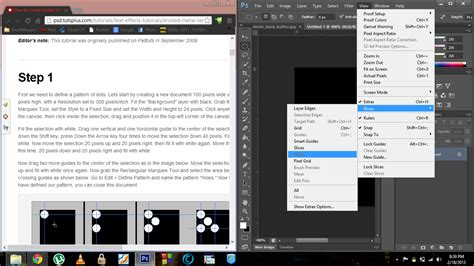 save guide layout photoshop why guides option is not working in photoshop cs6