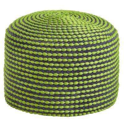 green pouf ottoman spiral pouf ottoman green alexander pinterest