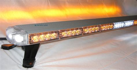 led tow truck light bar 50 quot clear led lightbar warning tow truck