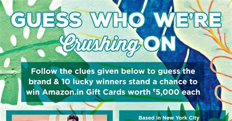 How To Win Amazon Gift Cards India - guess and win contest 10 lucky winner win free amazon gift card worth rs 5000 india