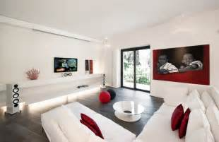 White Modern Living Room Pics Photos Red And White Living Room Ideas Modern