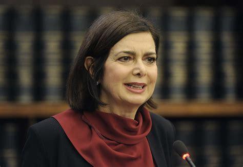 boldrini presidente boldrini ricoverata al policlinico di roma gazzetta