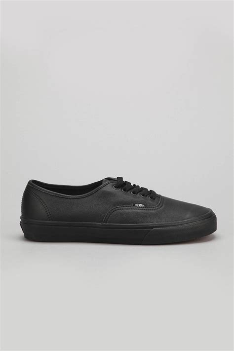 italian leather sneakers vans authentic italian leather monochromatic sneaker in