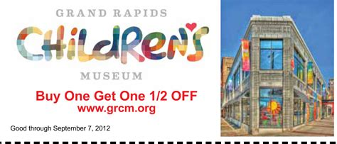 haircut coupons grand rapids mi grand rapids children s museum bogo coupon jpg
