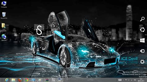 themes for windows 8 1 cars car water effect theme for windows 7 and 8 season 2 ouo